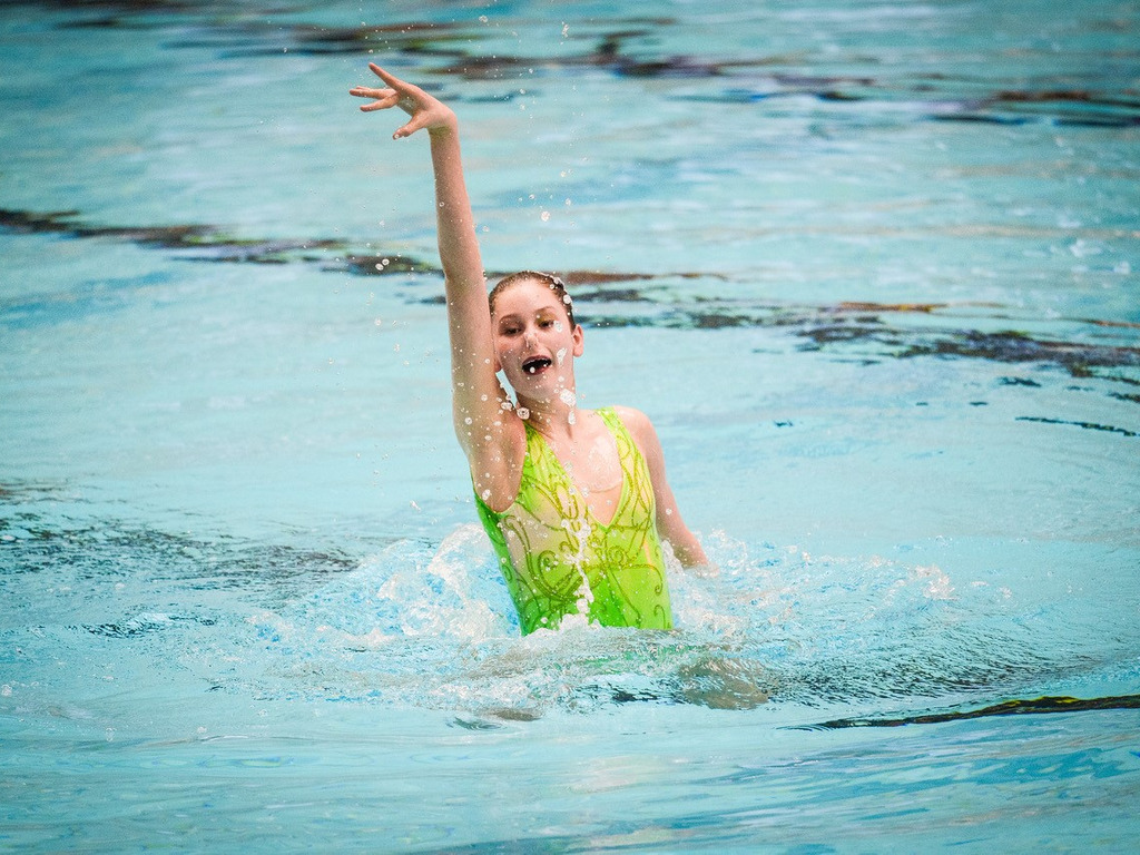 Making a Splash in Artistic Swimming