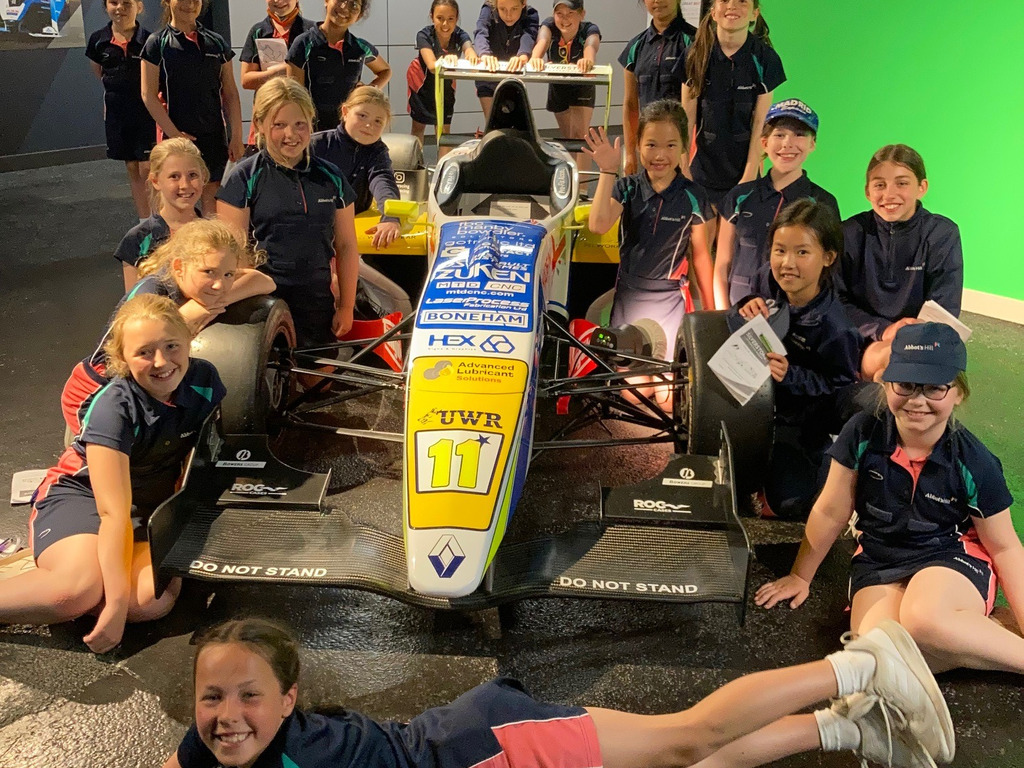 Abbot's Hill races to Silverstone Interactive Museum and Circuit