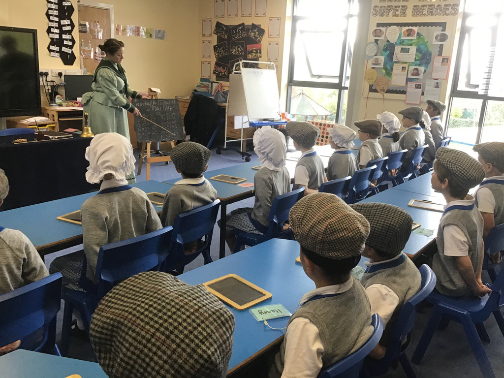 Children Experience Life in a Victorian Classroom