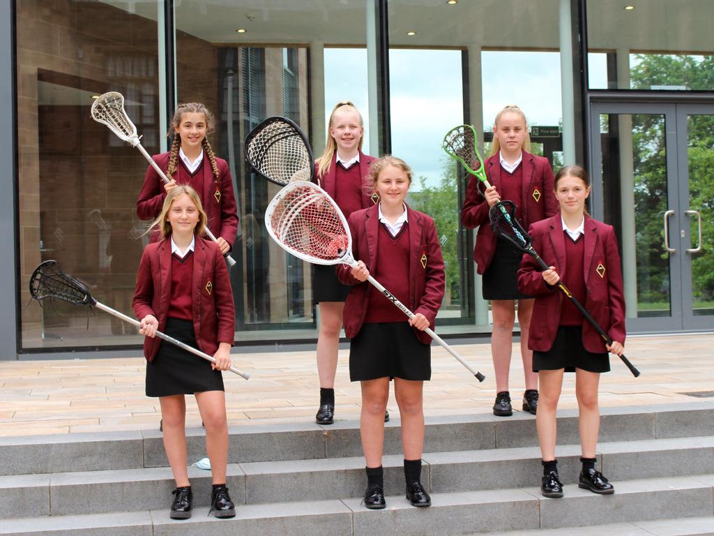Lacrosse Girls in Talent Programme