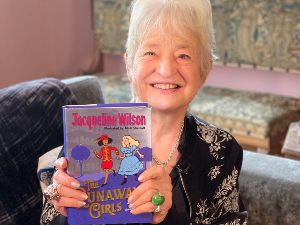 Girls Secure Exclusive Interview with Author Jacqueline Wilson