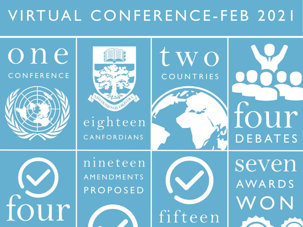 Model UN infographic