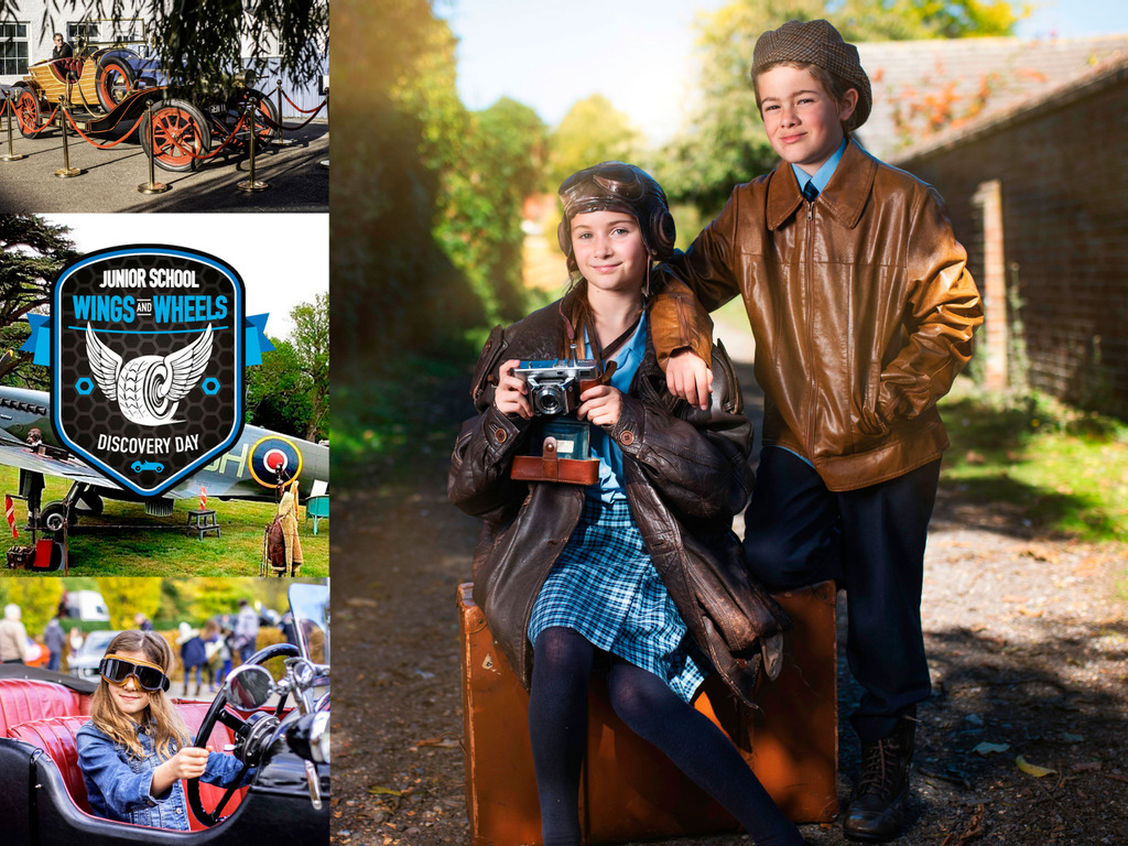 Wings & Wheels roar into action at Cranford House!