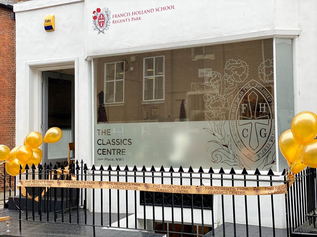 Francis Holland School, Regent's Park opens first Classics Centre this century!