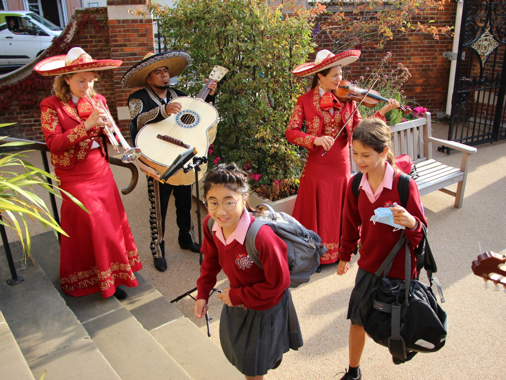 A unique welcome back for new girls at Francis Holland, Regent's Park!