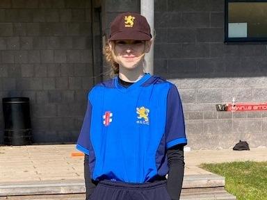 Sophia creates cricketing history at Haberdashers' Monmouth Schools