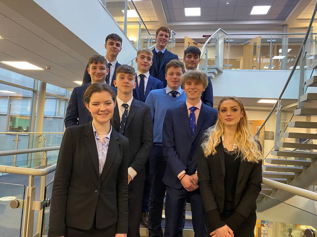 Enterprising Monmouth students win five awards in Welsh finals