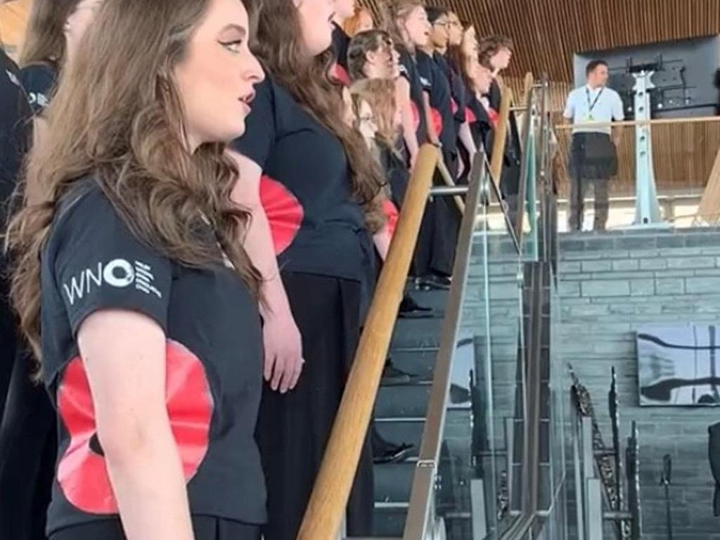 Teenage soprano's Royal performance in Cardiff