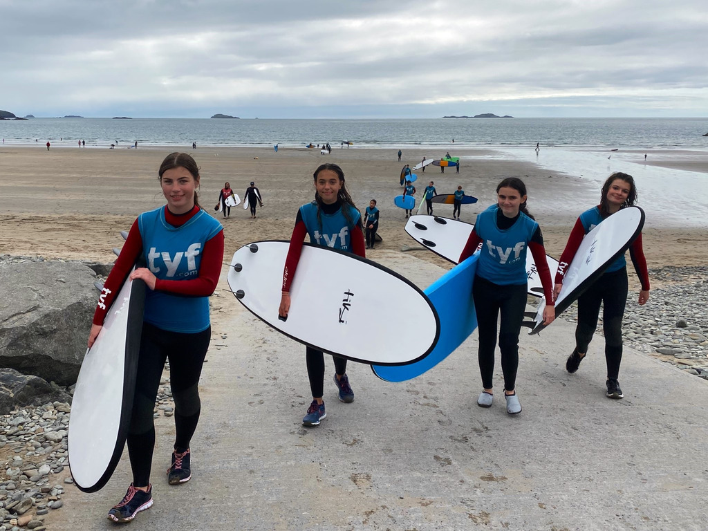 Magical moments for Haberdashers' Monmouth students in Pembrokeshire