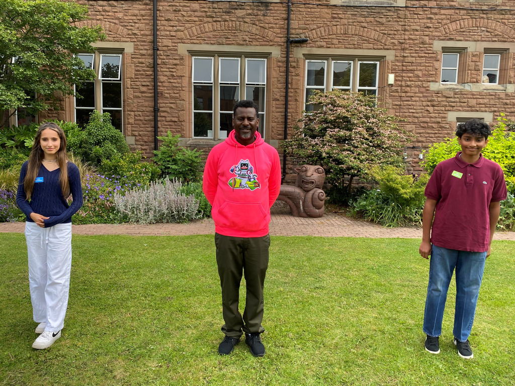 Brother of Stephen Lawrence headlines pupil-led inclusivity event at Monmouth
