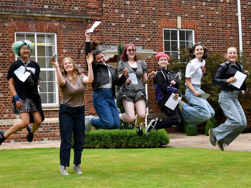 GCSE results day at Headington School