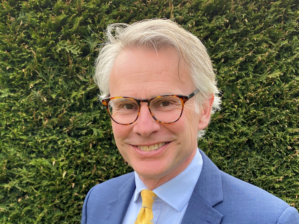 Mr Mark Turnbull, the new Head of Kent College, Canterbury