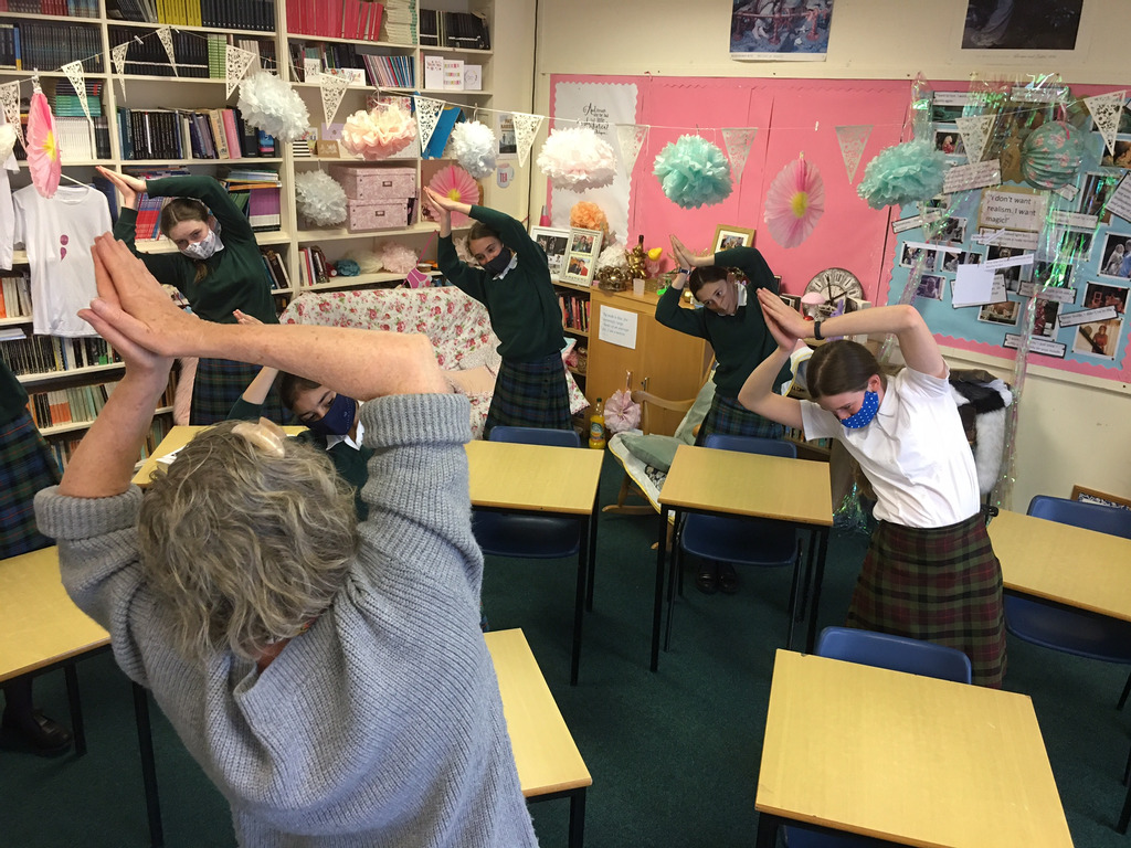 Heads' up – it's time to put your back into learning at Kilgraston School