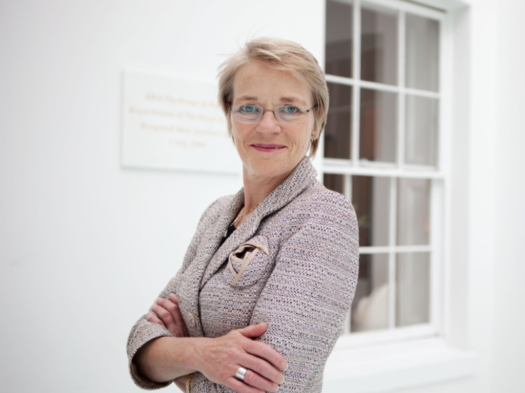 Executive Director of The Royal Society Zooms into Kilgraston School