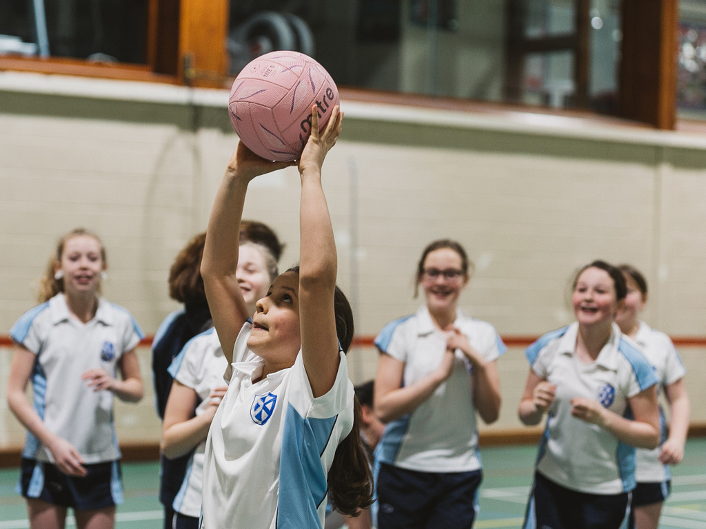 Kilgraston School pupil selected for Netball Scotland Ambassador Programme