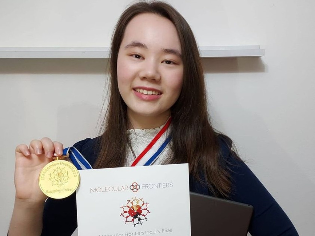 KEHS pupil is first UK girl to win a Molecular Frontiers Inquiry Prize