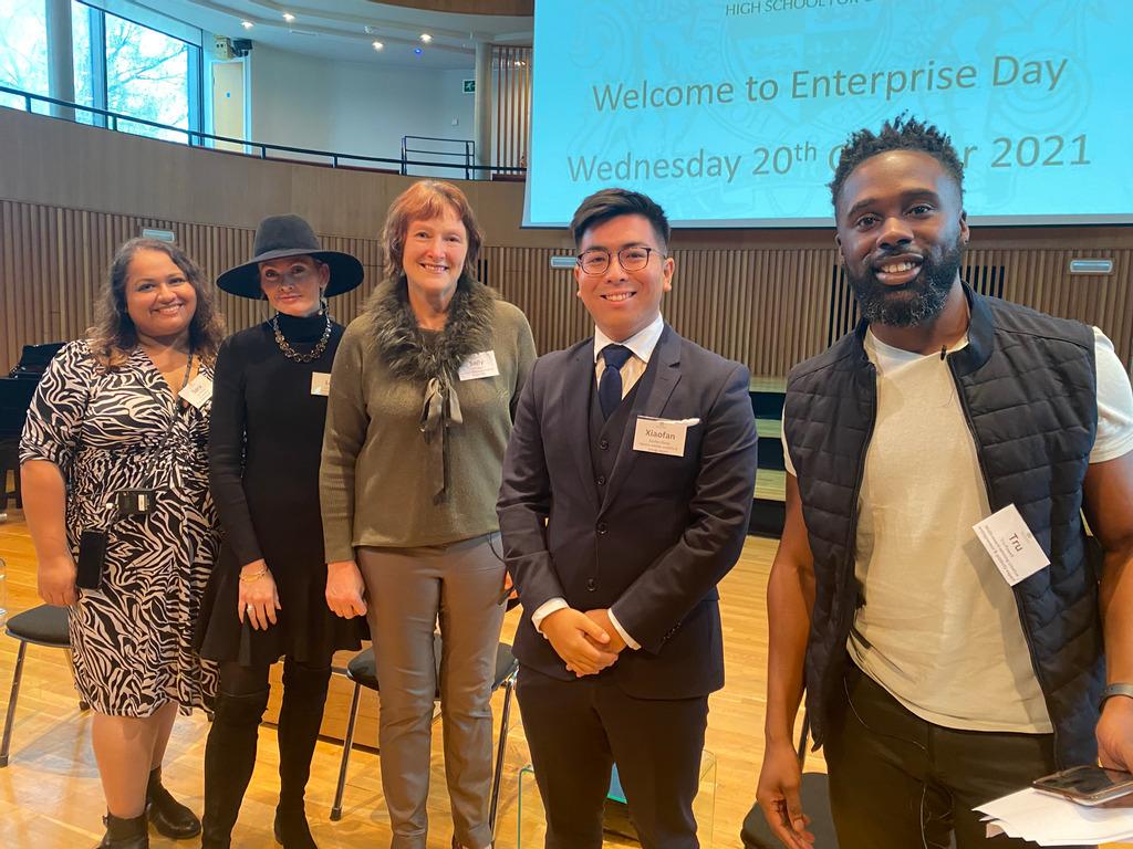 KEHS hosts 120 King Edward VI Foundation pupils at inspirational Enterprise Day
