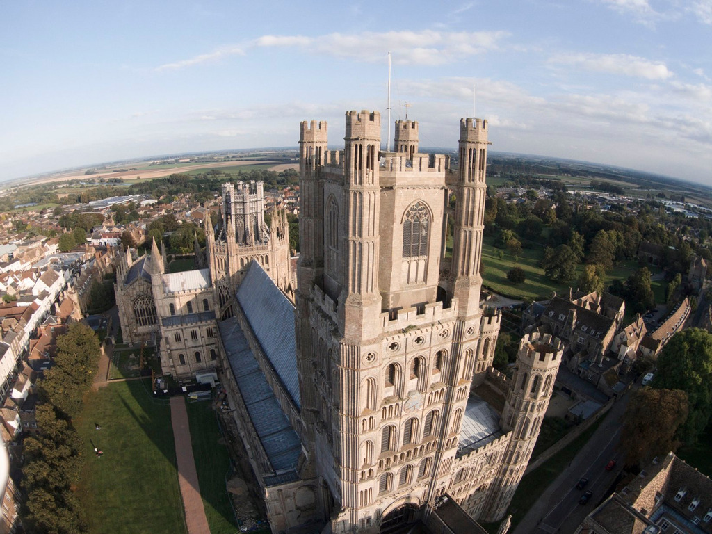 West Tower & Octagon Tower Ely