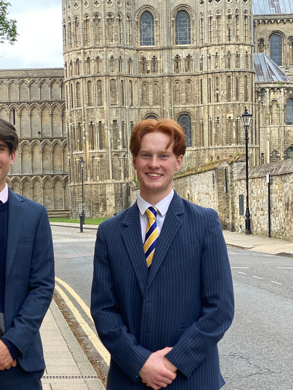Billy Pinto (left) and Tom Bateman (right)