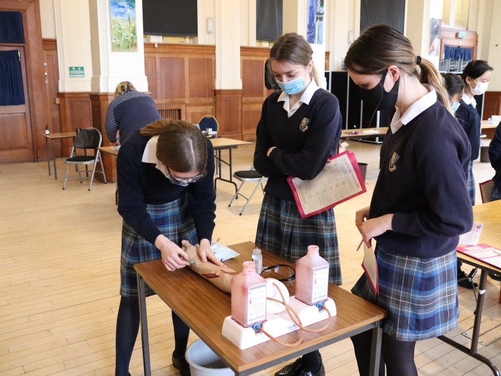 British Science Week at Malvern St James Girls' School