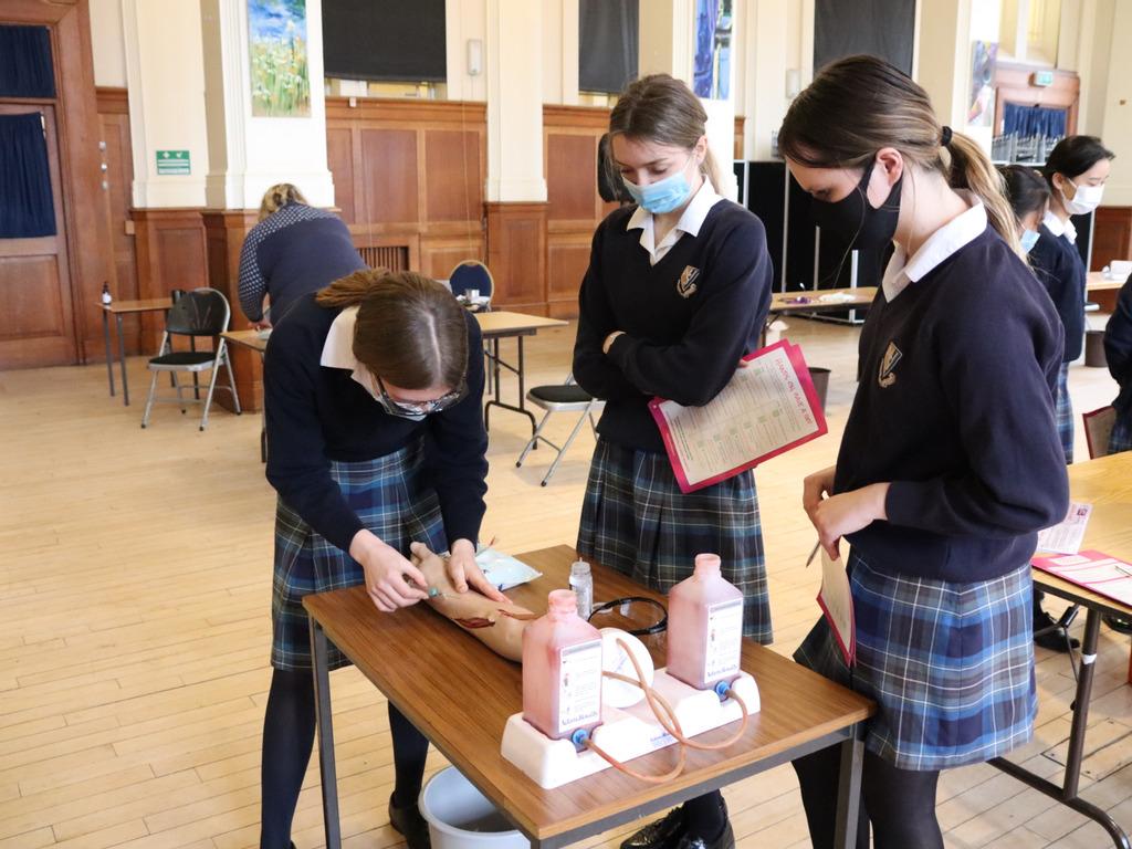 British Science Week at Malvern St James Girls' School