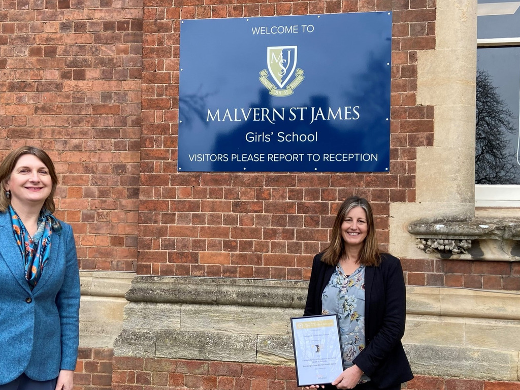Malvern St James Girls' School scoops pioneering mental health award