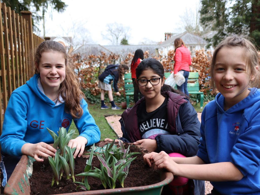 New Garden for Prep at Malvern St James Girls' School