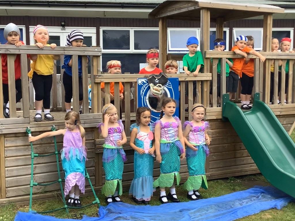 Pirates Versus Mermaids at Manor House School