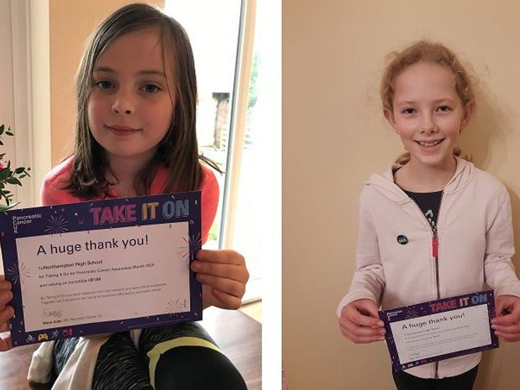 School community raises over £8,000 to support Pancreatic Cancer UK!
