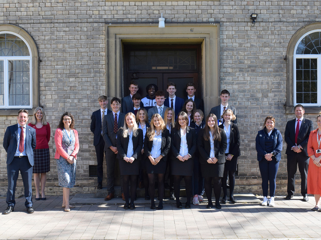 Sixth Formers and Staff at Pocklington School