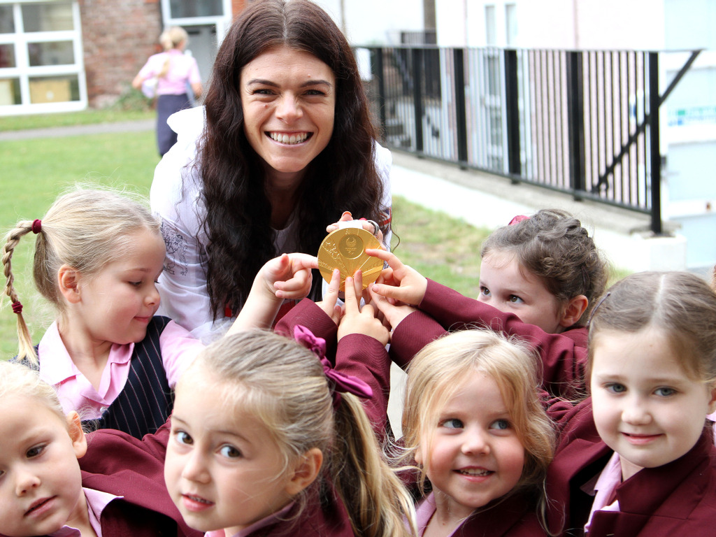 Portsmouth High School – Lauren Steadman shares her Paralympic success