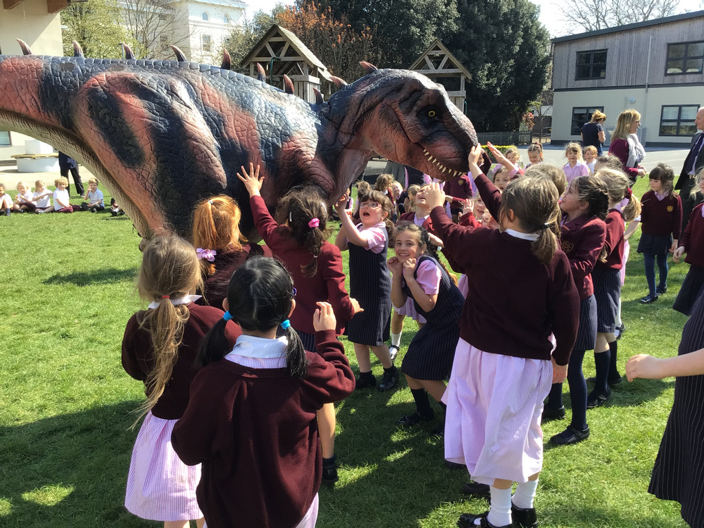 Dinosaurs return to Prep School after 65 million years