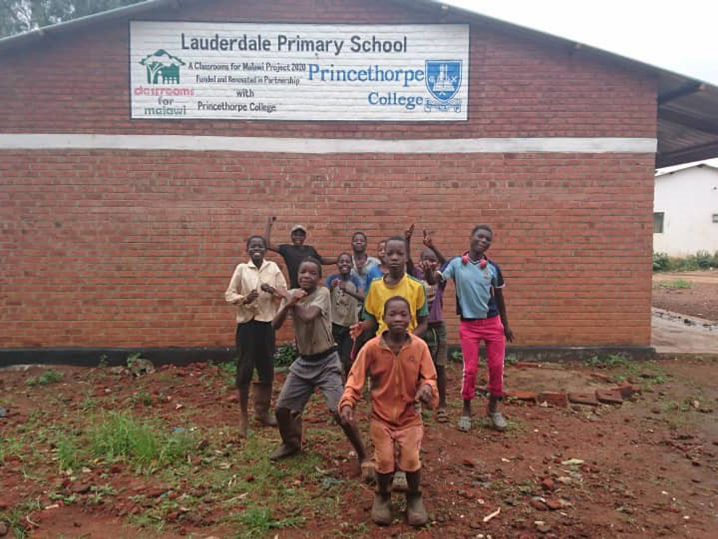 Classrooms For Malawi Sign 1