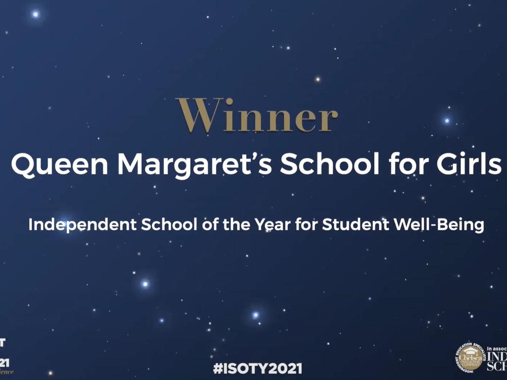 Queen Margaret's School for Girls Wins Prestigious Award for Student Wellbeing