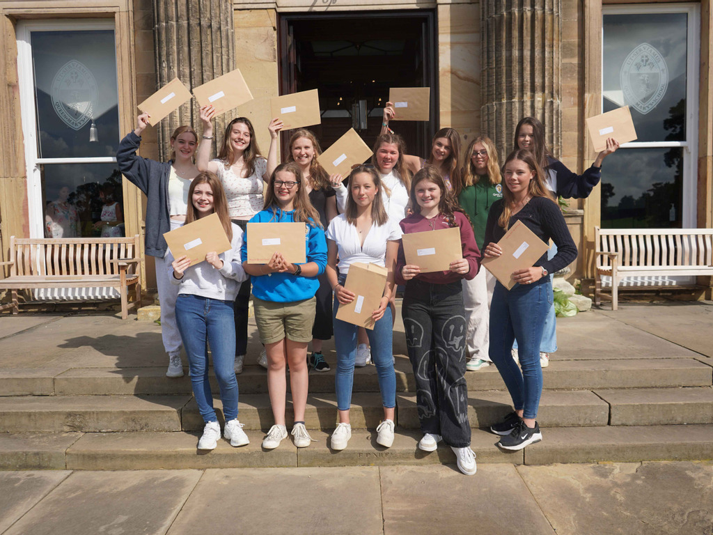 Inspiring and Industrious Year 11 pupils - GCSE Success Queen Mary's School