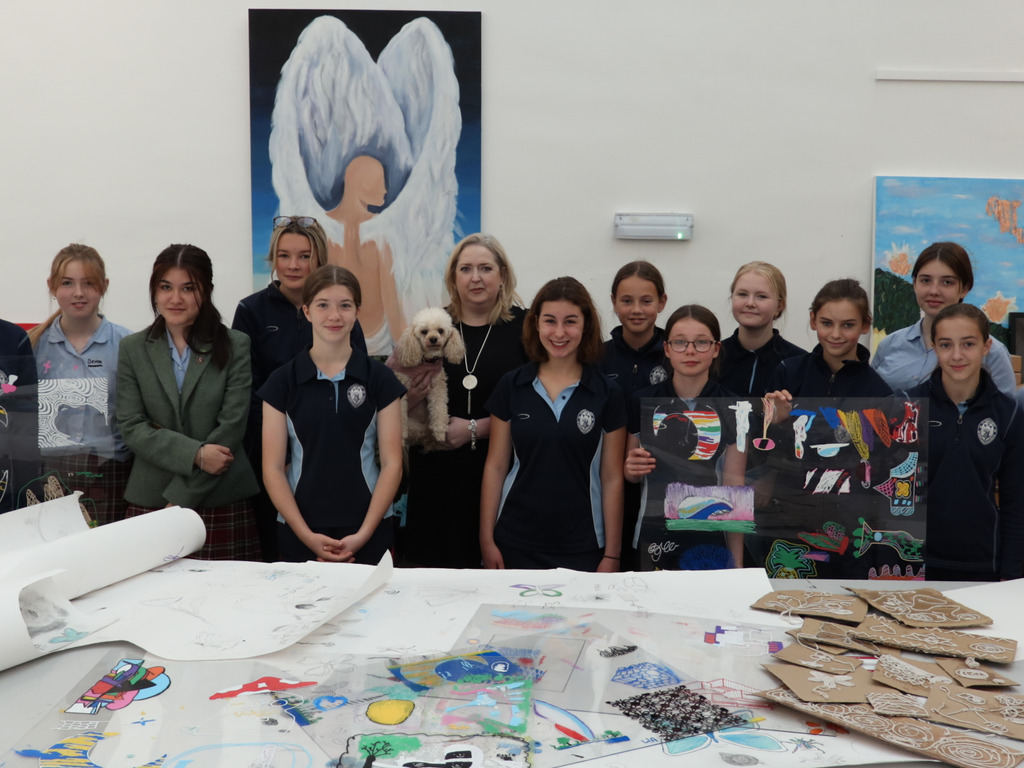 The Big Draw Came to Queen Mary's School
