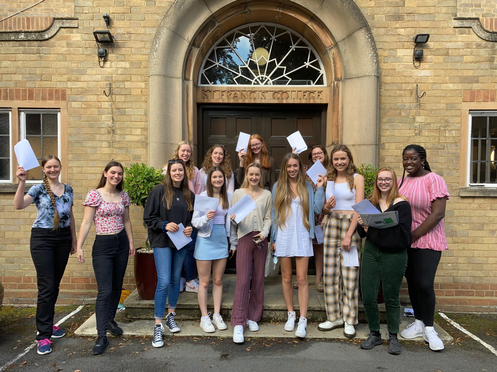 A Level Results 2021 at St Francis' College