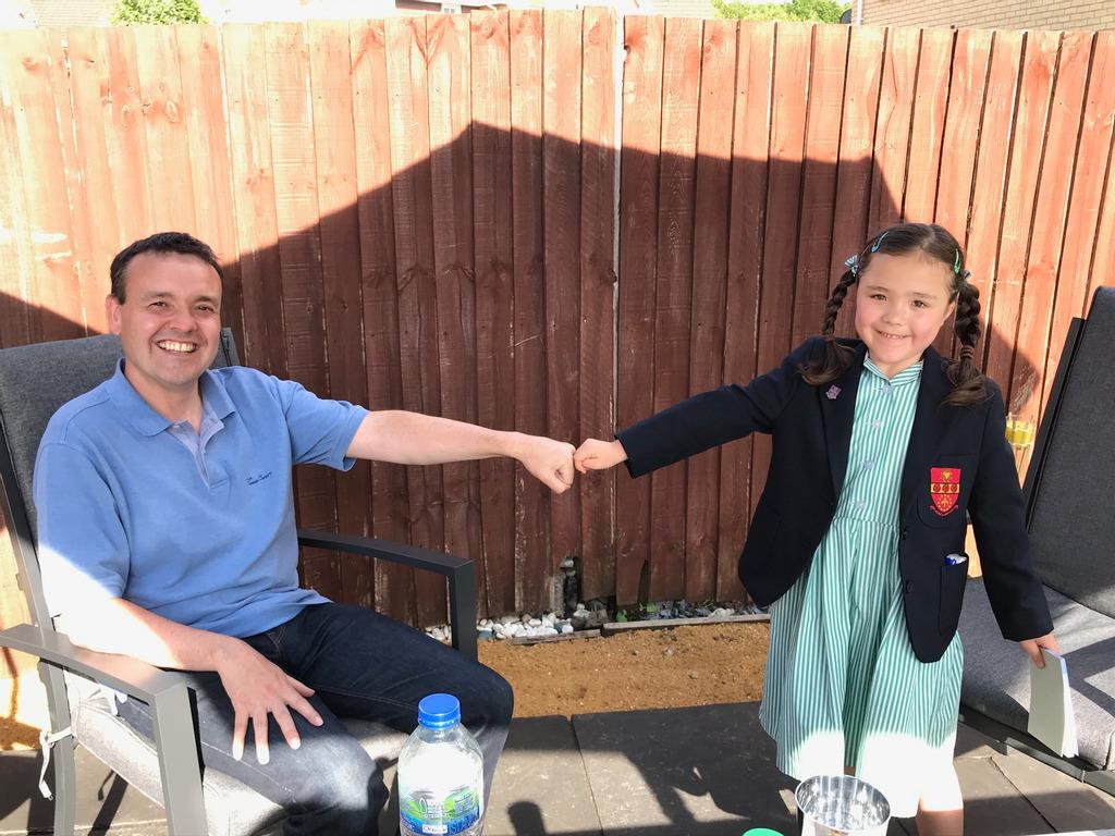 St. Francis' Prep Student Meets MP