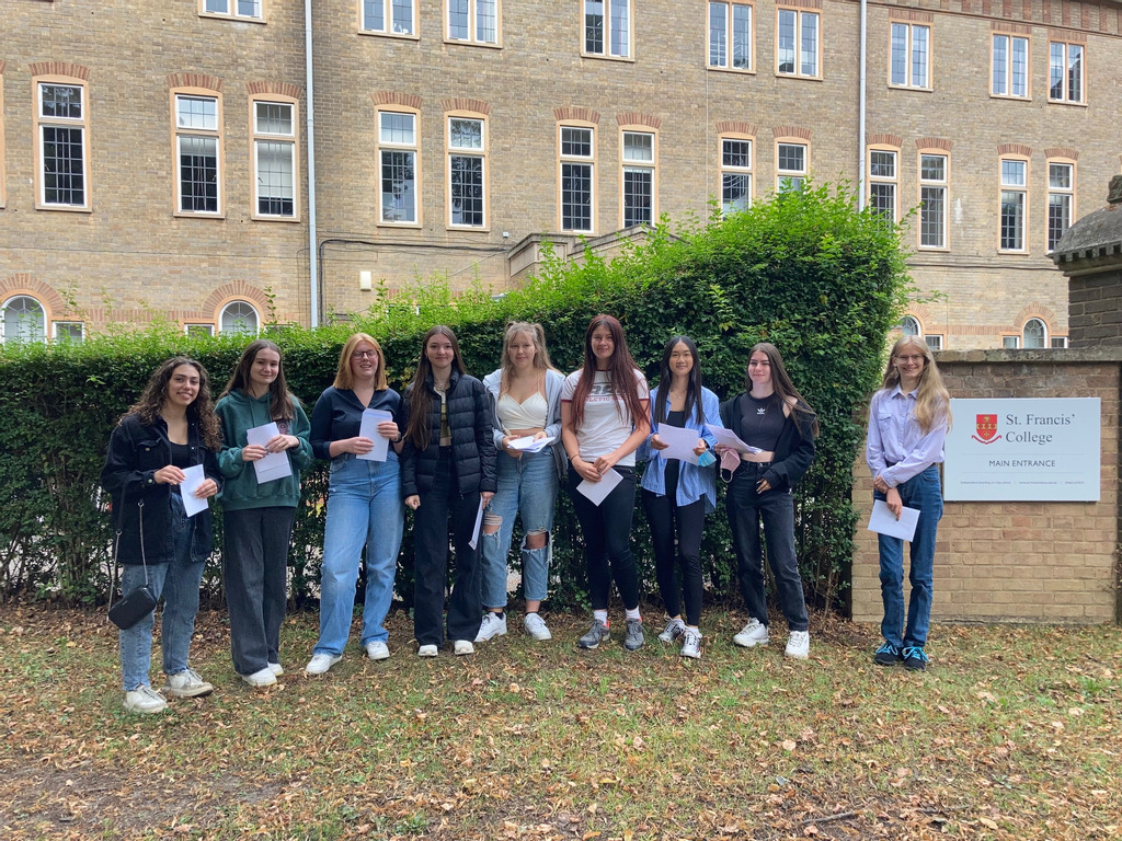 GCSE Results 2021 at St Francis' College