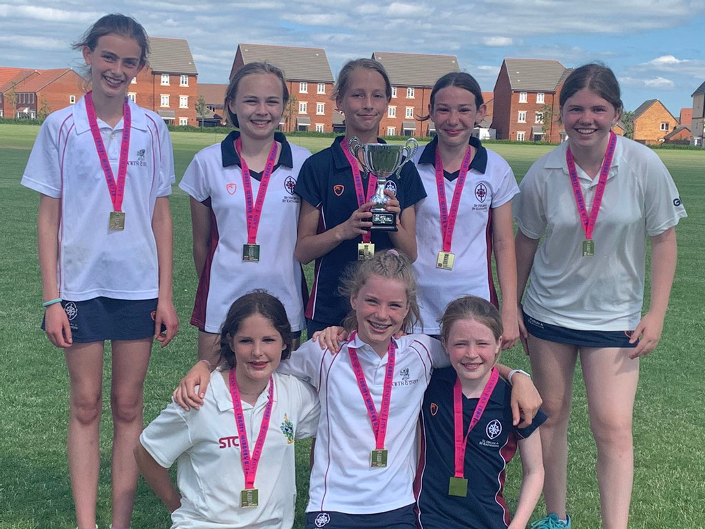 St Helen and St Katharine team victorious in county cricket tournament
