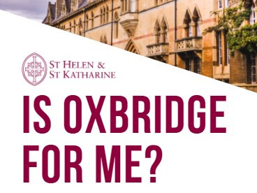 St Helen and St Katharine demystifies Oxbridge for state school students