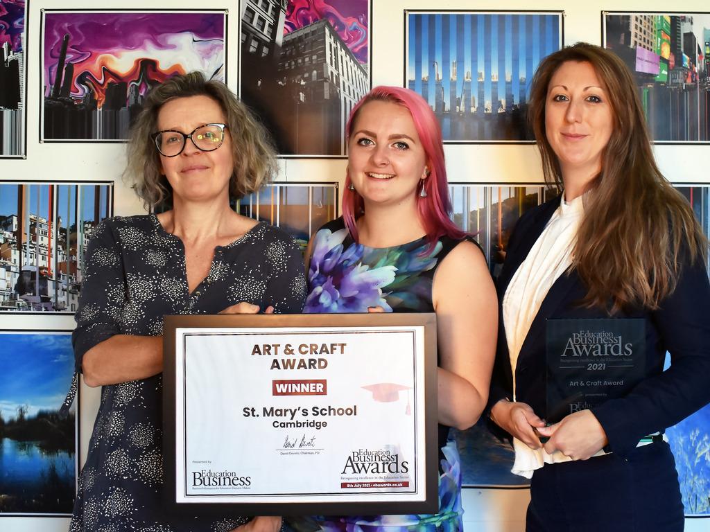 St Mary's School wins prestigious national award