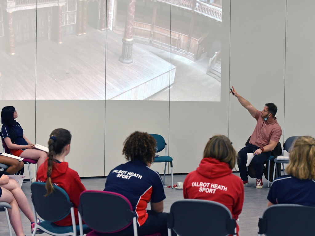 A Midsummer Day's Dream – Globe Workshop at Talbot Heath