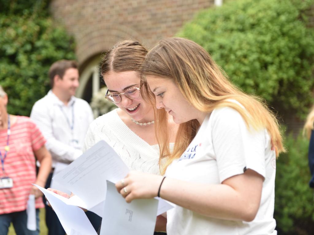 Talbot Heath GCSE Student Catherine Performs Swimmingly