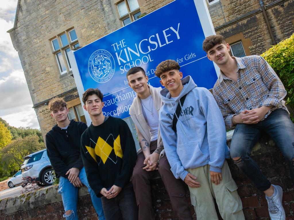 TikTok Sensation Boyband Offer Mental Health Advice to Kingsley Students