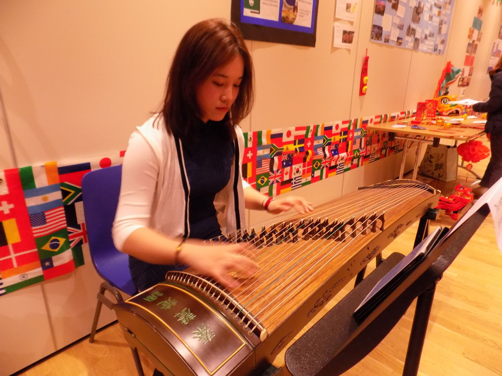 Cindy playing at last year's event