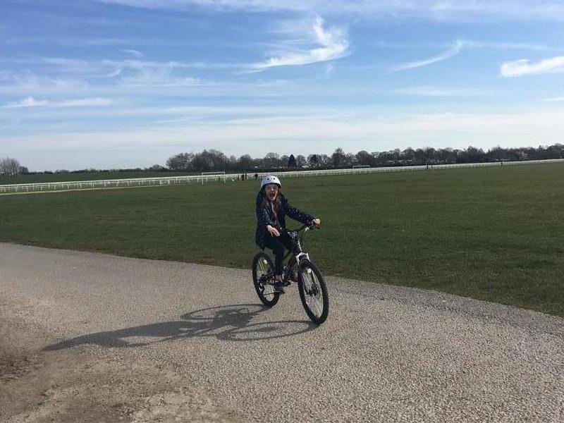 Milly's Marathon SASH Cycle