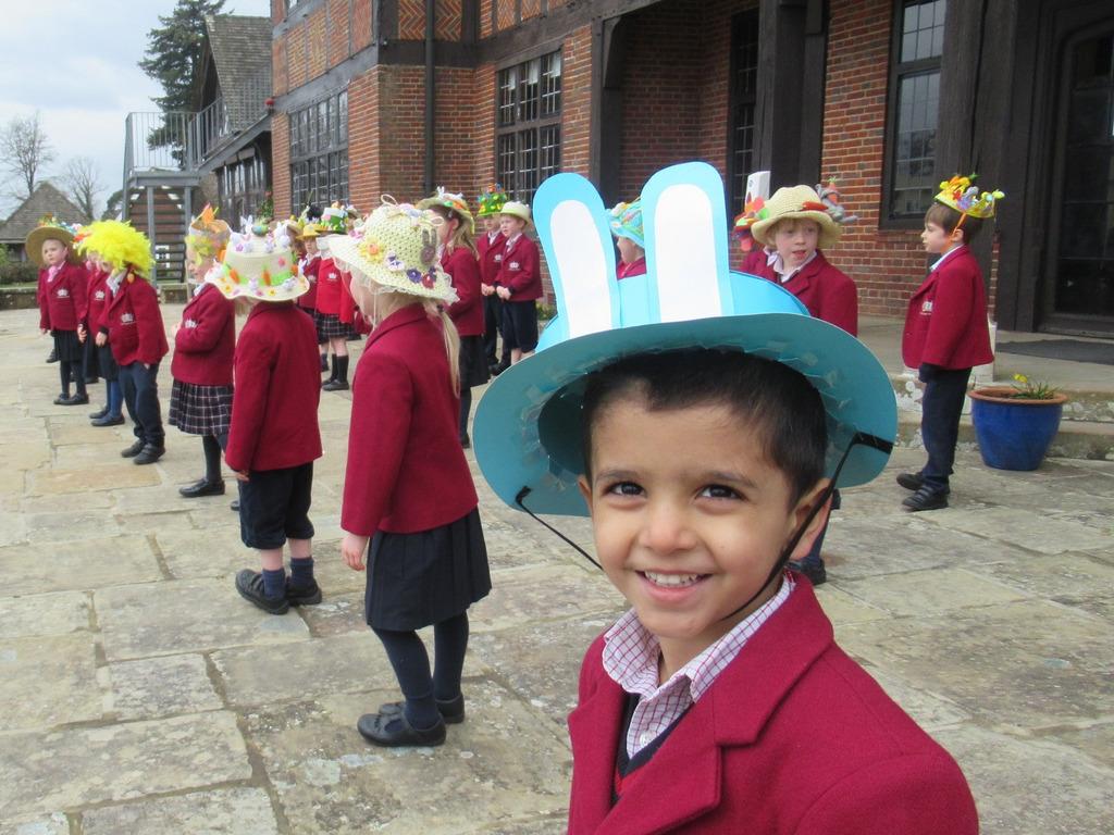 PrePrep Easter Hat Parade 3