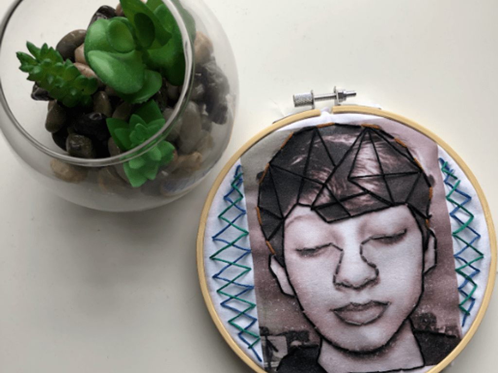Embroidered Selfie Ben