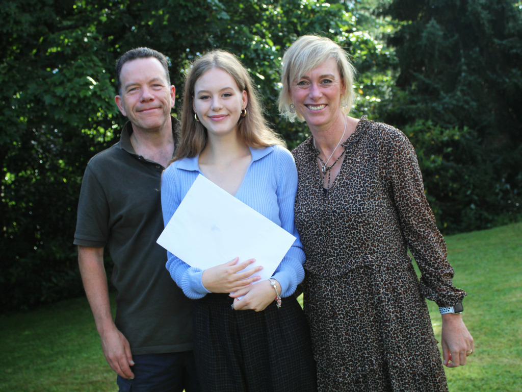 Truro High's Lowena defies long COVID to achieve exceptional A Level results
